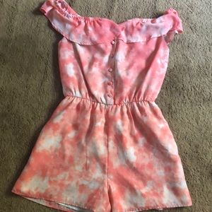 Size M Pink Decree Brand Romper